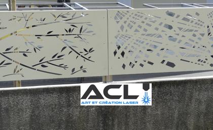 Art cr ation laser portails clotures et mobilier en dr me ard che - Grilles clotures metalliques ...